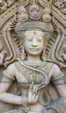Άγαλμα γλυπτικών Apsara Στοκ Εικόνα
