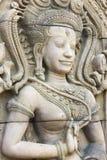 Άγαλμα γλυπτικών Apsara Στοκ Εικόνες
