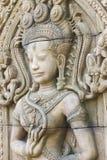 Άγαλμα γλυπτικών Apsara Στοκ εικόνες με δικαίωμα ελεύθερης χρήσης