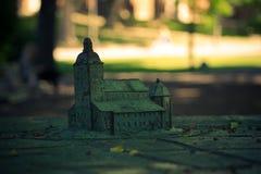 Άγαλμα εκκλησιών Στοκ εικόνες με δικαίωμα ελεύθερης χρήσης