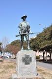 Άγαλμα εμφύλιου πολέμου στοκ εικόνα