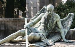 Άγαλμα ενός αγγέλου στοκ φωτογραφία