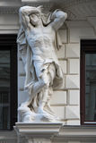 Άγαλμα ενός γυμνού ατόμου - Βιέννη - Αυστρία Στοκ Εικόνα