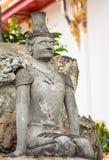 Άγαλμα ερημιτών ακροβατών Στοκ εικόνες με δικαίωμα ελεύθερης χρήσης