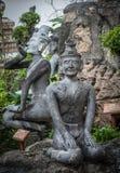 Άγαλμα ερημιτών ακροβατών Στοκ Εικόνες