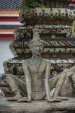 Άγαλμα ερημιτών ακροβατών Στοκ Φωτογραφίες