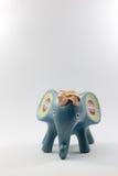 Άγαλμα ελεφάντων που γίνεται με το ξύλο, ύφος της Ταϊλάνδης Στοκ Εικόνες