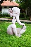 Άγαλμα ελεφάντων Στοκ εικόνα με δικαίωμα ελεύθερης χρήσης