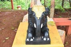 Άγαλμα ελεφάντων Στοκ Φωτογραφία