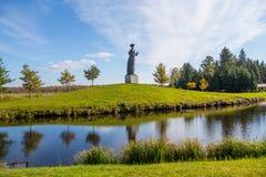 Άγαλμα, ζακέτες Grutas, Λιθουανία Στοκ Εικόνα