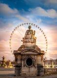 Άγαλμα θέσεων του Παρισιού Concorde στοκ εικόνα