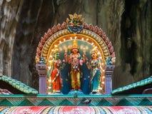 Άγαλμα Θεών μέσα στις σπηλιές batu Στοκ Εικόνες