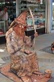 Άγαλμα διαβίωσης μάγων, Γιβραλτάρ Στοκ φωτογραφία με δικαίωμα ελεύθερης χρήσης
