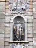 Άγαλμα δικαιοσύνης Στοκ φωτογραφία με δικαίωμα ελεύθερης χρήσης