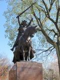 Άγαλμα ιπποτών Jagiello βασιλιάδων στην πόλη της Νέας Υόρκης, Central Park Στοκ φωτογραφίες με δικαίωμα ελεύθερης χρήσης