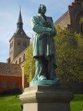 Άγαλμα κινηματογραφήσεων σε πρώτο πλάνο του συγγραφέα Χ παραμυθιού Γ _ Στοκ εικόνες με δικαίωμα ελεύθερης χρήσης
