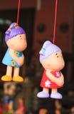 Άγαλμα κοριτσιών παιδιών Στοκ Φωτογραφία