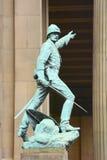 Άγαλμα Λίβερπουλ χαλκού Στοκ φωτογραφία με δικαίωμα ελεύθερης χρήσης