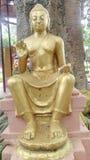 Άγαλμα Λόρδου Βούδας στο sarnath Στοκ Φωτογραφία