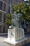 Άγαλμα μιας ιερής εικόνας, Βουδαπέστη Στοκ Φωτογραφίες