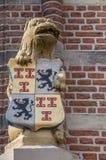 Άγαλμα μπροστά από το Δημαρχείο Culemborg Στοκ Εικόνες