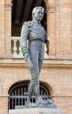 Άγαλμα μπροστά από Plaza de Toros στη Βαλένθια Στοκ φωτογραφίες με δικαίωμα ελεύθερης χρήσης