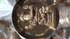 Άγαλμα ορείχαλκου Ganesh, ganapati στοκ εικόνες με δικαίωμα ελεύθερης χρήσης