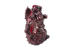 Άγαλμα ο γελώντας Βούδας - Budai ή Hotei απομονωμένος εύθυμος μοναχός Στοκ Εικόνα