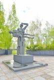 Άγαλμα πέντε-μετρητών της μητέρα-Καρελίας Στοκ φωτογραφία με δικαίωμα ελεύθερης χρήσης