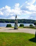 Άγαλμα παλατιών της Στοκχόλμης Στοκ εικόνες με δικαίωμα ελεύθερης χρήσης