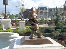Άγαλμα ποντικιών της Minnie Στοκ Εικόνες