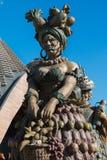 Άγαλμα που γιορτάζει τα τρόφιμα σε Arcimboldo& x27 ύφος του s Στοκ Εικόνες