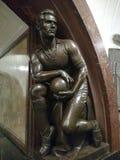 Άγαλμα ποδοσφαιριστών Στοκ φωτογραφία με δικαίωμα ελεύθερης χρήσης