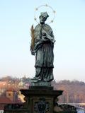 Άγαλμα Πράγα Charlesbridge ΙΙΙ στοκ εικόνα