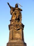 Άγαλμα Πράγα Charlesbridge ΙΙ στοκ φωτογραφίες με δικαίωμα ελεύθερης χρήσης