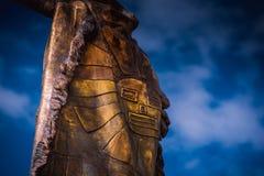 Άγαλμα πόλεων του Περού Cusco Στοκ φωτογραφία με δικαίωμα ελεύθερης χρήσης