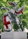 Άγαλμα δράκων στο Λονδίνο Στοκ φωτογραφία με δικαίωμα ελεύθερης χρήσης