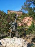 Άγαλμα δράκων Wawel Στοκ φωτογραφία με δικαίωμα ελεύθερης χρήσης