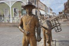 Άγαλμα σε Antofagasta, Χιλή Στοκ Εικόνες