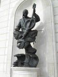 Άγαλμα σε Astana στοκ φωτογραφία