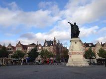 Άγαλμα σε Gent Στοκ φωτογραφία με δικαίωμα ελεύθερης χρήσης