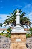 Άγαλμα σε Plaza Villa de Leyva Στοκ εικόνα με δικαίωμα ελεύθερης χρήσης