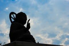 άγαλμα σκιαγραφιών του Β&o Στοκ Εικόνες