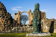 Άγαλμα στα ιερά νησιά Στοκ φωτογραφίες με δικαίωμα ελεύθερης χρήσης