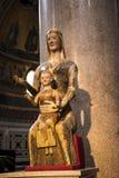 Άγαλμα στη βασιλική του ST John Lateran στη Ρώμη Ιταλία Στοκ Εικόνα