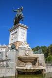 Άγαλμα στη Μαδρίτη Royal Palace Στοκ εικόνες με δικαίωμα ελεύθερης χρήσης