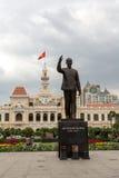 Άγαλμα στη πόλη Χο Τσι Μινχ Στοκ εικόνες με δικαίωμα ελεύθερης χρήσης