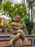 Άγαλμα στη Σεβίλη στοκ εικόνες