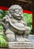 Άγαλμα στον ινδό ναό στο Μπαλί, Ινδονησία Στοκ εικόνα με δικαίωμα ελεύθερης χρήσης