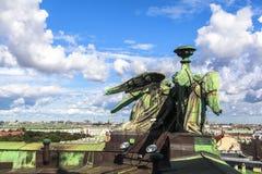 Άγαλμα στον καθεδρικό ναό Αγίου Isaac, Άγιος Πετρούπολη στοκ φωτογραφία με δικαίωμα ελεύθερης χρήσης